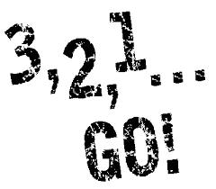 3, 2, 1, go!